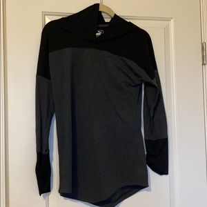 NWT! Gray and black puma sweatshirt